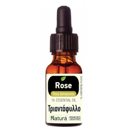 Rose (Rosa damascena)  5% diluted 5 mL