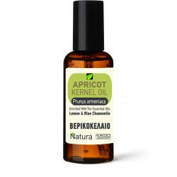 APRICOT OIL (Prumus armeniaca) ENRICHED with Lemon and Chamomile
